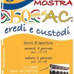 LOCANDINA MOSTRA 150 ANNI A.C.